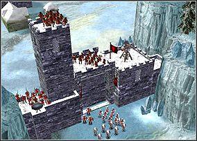 Porz�dnie chronione mury i brama - Chapter V - Morgan le Fay (1) - Kampania King Arthur - Twierdza Legendy - poradnik do gry