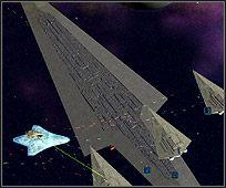 Flagowy statek Lorda Vadera, mający ponad 19 - Bohaterowie i jednostki kosmiczne - Imperium - Star Wars: Empire at War - Forces of Corruption - poradnik do gry