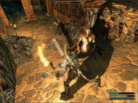Musisz zej�� do �wi�tyni, w kt�rej przebywaj� o�ywie�cy, by sprawdzi� czy nie pozosta� tam �aden �ywy Ork - Trelis (2) - Questy - Gothic 3 - poradnik do gry