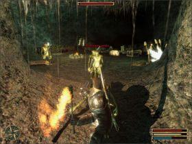 Tym razem musisz odszuka� jaskini�, siedzib� bandy i wybi� wszystkie gobliny - Trelis (3) - Questy - Gothic 3 - poradnik do gry