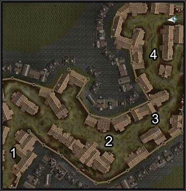 Na końcu poziomu (4) znajduje się sam wagon z bronią oraz jego liczna obstawa - Neverwinter (3) - Akt 1 - Neverwinter Nights 2 - poradnik do gry