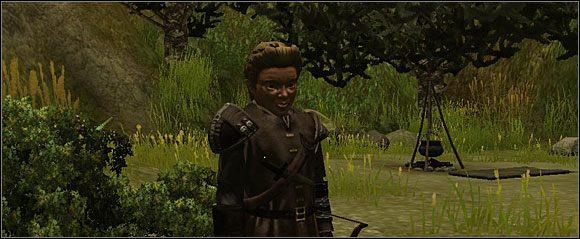 Gdy wyruszysz do Studni Starej Sowy, spotkasz po drodze gnoma imieniem Grobnar, który będzie chciał przyłączyć się do twojej drużyny - Studnia Starej Sowy (1) - Akt 1 - Neverwinter Nights 2 - poradnik do gry