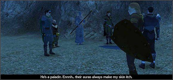 Po drodze napadni�ty zostaniesz przez grup� ork�w - Studnia Starej Sowy (1) - Akt 1 - Neverwinter Nights 2 - poradnik do gry