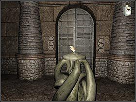 W celu otwarcia drzwi b�dziesz musia� wcisn�� cztery p�yty kamienne - The Thames - Pod magazynem (1) - Rozdzia� 2 - Sherlock Holmes: Przebudzenie - poradnik do gry