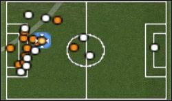 Drużyna w pełnym ataku - Konwencje taktyczne - Pro Evolution Soccer 6 - poradnik do gry