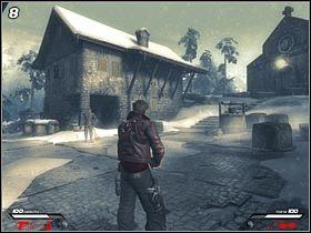 Wyjdź z szopy i przejdź do centrum osady (#8), w którym urzęduje podstarzały Niemiec - Hochtempelberg Monastery (1) - Mission 1 - Infernal - poradnik do gry