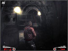 Dalszą drogę blokuje podwieszony pod sufitem czujnik (#16) - Hochtempelberg Monastery (1) - Mission 1 - Infernal - poradnik do gry