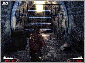 Korytarz chroniony jest przez niebieskie wi�zki laserowe (#20) - Hochtempelberg Monastery (2) - Mission 1 - Infernal - poradnik do gry