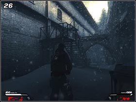 Wracaj do metalowej bramki i skorzystaj z odblokowanego przej�cia - Hochtempelberg Monastery (2) - Mission 1 - Infernal - poradnik do gry