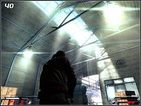 Górna stacja kolejki linowej, podobnie jak i dolna, chroniona jest przejściem z niebieskimi czujnikami (#39) - Hochtempelberg Monastery (3) - Mission 1 - Infernal - poradnik do gry