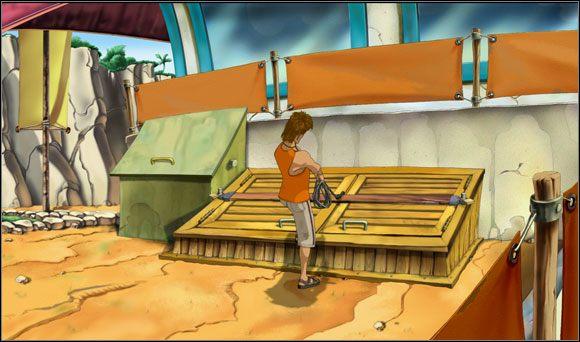 Wszelkie przełączniki z pewnością znajdowały się w zablokowanej piwnicy - Surfując na Mala (3) - Rozdział II - Runaway 2: Sen Żółwia - poradnik do gry