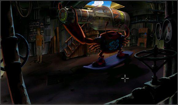 Wejście do piwnicy stało otworem - Surfując na Mala (3) - Rozdział II - Runaway 2: Sen Żółwia - poradnik do gry