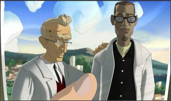 W osobnika po prawej planował wcielić się Brian. - Surfując na Mala (4) - Rozdział II - Runaway 2: Sen Żółwia - poradnik do gry