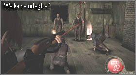 Gdy regały padną wrogowie wdzierać będą się przez okna - Village (2-2) - obrona domu - Resident Evil 4 - PC - poradnik do gry