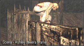 Teraz możesz do niej dołączyć - Village (2-2) - eskorta Ashley - Resident Evil 4 - PC - poradnik do gry