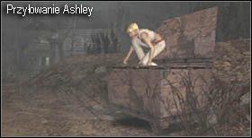 Z niego zabij ostatniego ocalałego nieprzyjaciela (możesz zaoszczędzić amunicję strącając go kilkakrotnie z drabiny) - Village (2-2) - eskorta Ashley - Resident Evil 4 - PC - poradnik do gry
