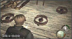 Wieśniaków z podwyższenia strąć strzelając im w nogi, dzięki temu zadasz im dodatkowe obrażenia - Village (2-2) - eskorta Ashley - Resident Evil 4 - PC - poradnik do gry