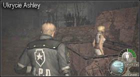 Będąc na farmie na samym początku natrafisz na kontener, każ ukryć się w nim podopiecznej, a samemu - Village (2-2) - eskorta Ashley - Resident Evil 4 - PC - poradnik do gry