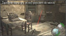 i wyjdź po drabince na jego końcu - Village (2-2) - eskorta Ashley - Resident Evil 4 - PC - poradnik do gry