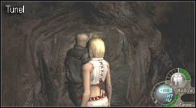 Następnie udaj się do miejsca, w którym znajduje się wejście do sekretnego tunelu - Village (2-2) - eskorta Ashley - Resident Evil 4 - PC - poradnik do gry