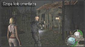 Ten się zapali i zjedzie na dół taranując ich - Village (2-2) - eskorta Ashley - Resident Evil 4 - PC - poradnik do gry