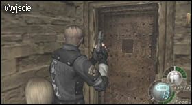 Etap rozpoczynasz w pomieszczeniu przyległym do kościoła - Village (2-2) - eskorta Ashley - Resident Evil 4 - PC - poradnik do gry