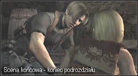 Po zakończonym filmiku pojawi się ekran kończący aktualny podrozdział, oraz możliwość zapisania stanu gry, skorzystaj z tego - Village (2-1) - kościół i spotkanie Ashley - Resident Evil 4 - PC - poradnik do gry