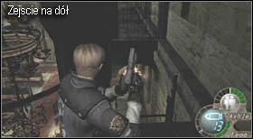 Przed wyjściem z pomieszczenia pozbieraj wszystkie przedmioty, które się tam znajdują - Village (2-1) - kościół i spotkanie Ashley - Resident Evil 4 - PC - poradnik do gry
