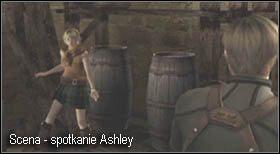i otwórz wcześniej zagrodzone drzwi - Village (2-1) - kościół i spotkanie Ashley - Resident Evil 4 - PC - poradnik do gry