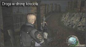 W połowie kładki znajduje się szopa, wejdź do niej, gdyż znajdują się tam skrzynie z przedmiotami - Village (2-1) - kościół i spotkanie Ashley - Resident Evil 4 - PC - poradnik do gry