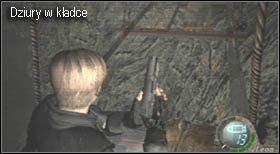 Etap rozpoczynamy przed drewnianym mostem - Village (2-1) - kościół i spotkanie Ashley - Resident Evil 4 - PC - poradnik do gry