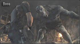 Na zewnątrz pozbieraj przedmioty (m - Village (2-1) - przystań i boss - Resident Evil 4 - PC - poradnik do gry