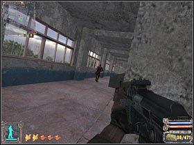 Skieruj się teraz do pomieszczenia zlokalizowanego po prawej stronie - Questy (3) | Instytut Agroprom - S.T.A.L.K.E.R.: Cień Czarnobyla - poradnik do gry