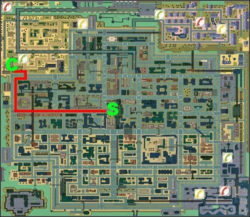 Miasto numer dwa - Mapa - Residential - GTA 2 - poradnik do gry