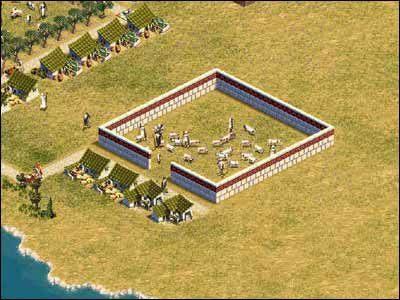 pastwiska mogą mieć niewielkie rozmiary - Rolnictwo - Gospodarka - Zeus: Pan Olimpu - poradnik do gry