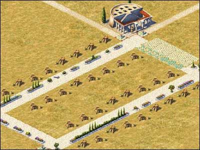 Ziemie o powierzchni 8x3 - Osiedla mieszkalne - Spo�ecze�stwo - Zeus: Pan Olimpu - poradnik do gry