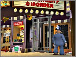 Brama była otwarta, nie było więc powodu trudzić się z wkładaniem formularza do czytnika - Walka na uwielbienie - I. Culture Shock - Sam & Max: Sezon 1 - poradnik do gry