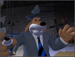 Detektywi poprosili o przesłuchanie - Operacja pianka do golenia - II. Situation Comedy - Sam & Max: Sezon 1 - poradnik do gry