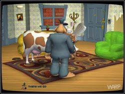 Po tym wprowadzeniu uruchomiono kamery - Gwiazdy małego ekranu, część I - Miejscy kowboje - II. Situation Comedy - Sam & Max: Sezon 1 - poradnik do gry