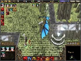 Wejdź do wykopu i zbadaj leżący tam kryształ - STRAŻNICA DUCHÓW cz.2 - SpellForce 2: Władca Smoków - poradnik do gry