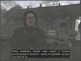 Lent chce, aby� uda� si� do wioski Broomhill i sprawdzi�, czy wszystko z ni� w porz�dku - Komorin - Questy - Two Worlds - poradnik do gry