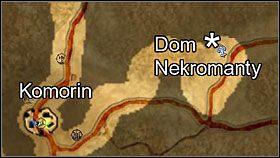 Lokalizacja domu nekromanty - Komorin - Questy - Two Worlds - poradnik do gry