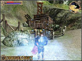M�ody cz�onek bractwa imieniem Holi chce, by� odnalaz� jego brata w kopalni Orna, kt�ra jest opanowana przez krasnoludy - Ober�a pod Zardzewia�ym Ogrem - Questy - Two Worlds - poradnik do gry