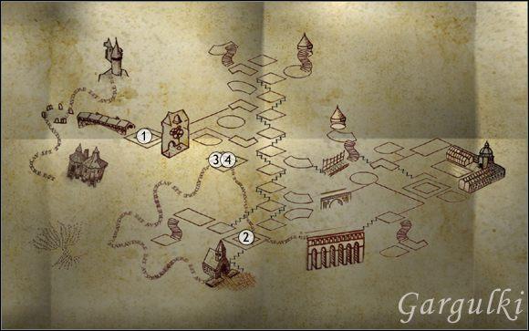 1 - Gargulki | Encyklopedia - Harry Potter i Zakon Feniksa - poradnik do gry