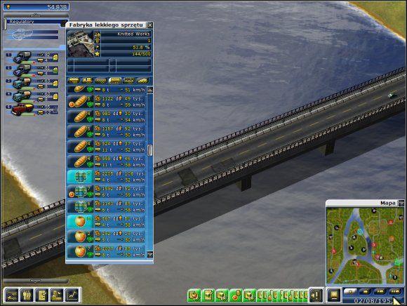 Zatrudniamy kierowców - gdy będzie ich akurat brakowało, korzystamy z rady z poprzedniego poziomu - Poziom 5 - Cudowne wodospady - Truck Tycoon - poradnik do gry