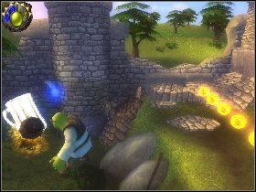 1 - [Solucja] Etap 4 - Stare ruiny - Shrek Trzeci - poradnik do gry