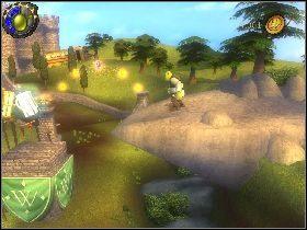 2 - [Solucja] Etap 4 - Stare ruiny - Shrek Trzeci - poradnik do gry