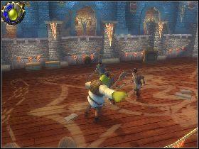 Wkrótce z prawej strony natkniesz się na małą ścieżkę - [Solucja] Etap 4 - Stare ruiny - Shrek Trzeci - poradnik do gry