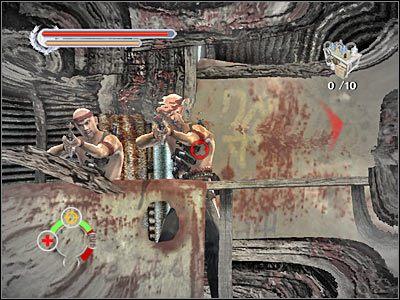Docelowo powinieneś skierować się do schodów, przy których bronili się wrogowie - Tai O (8) - Rozdział 2 - Stranglehold - poradnik do gry