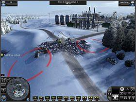 4 - Misja 8 - Poza żelazną kurtyną - Solucja - World in Conflict - poradnik do gry